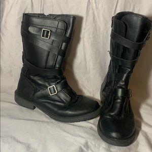 LEI combat boots